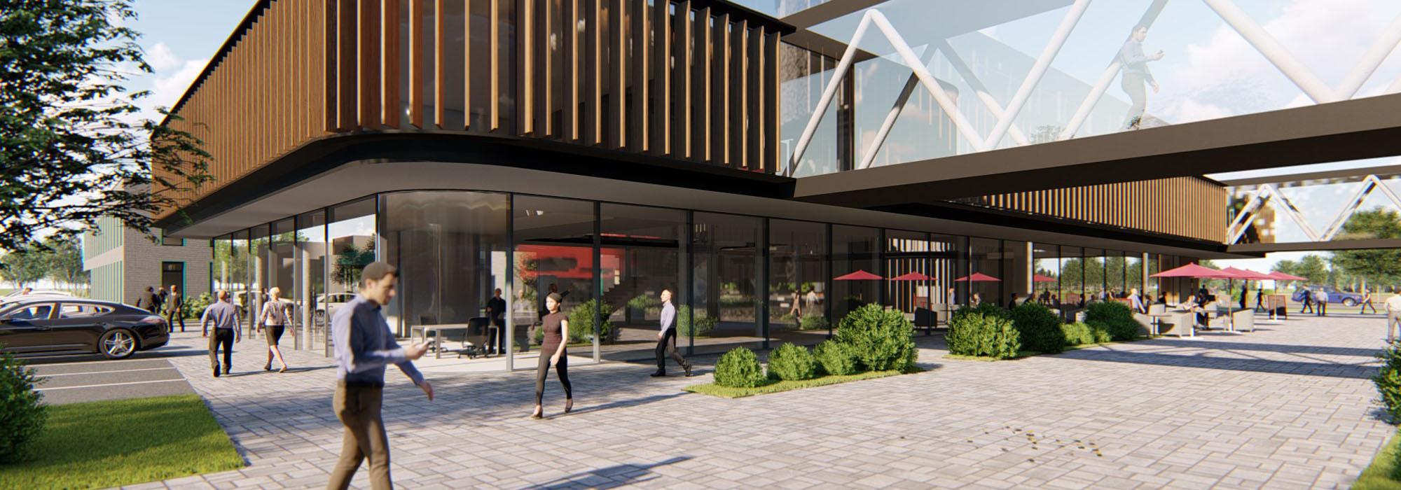 Münsterland Innovationspark Büroflächen Reken